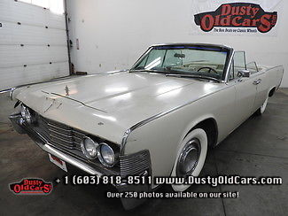 1965 Lincoln Continental Runs Drives Body Interior VGood