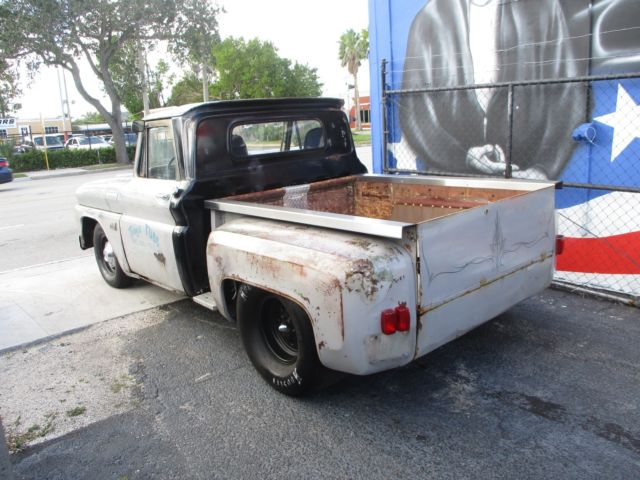 1966 Blue Chevrolet C-10 C10 PICK UP with Black interior