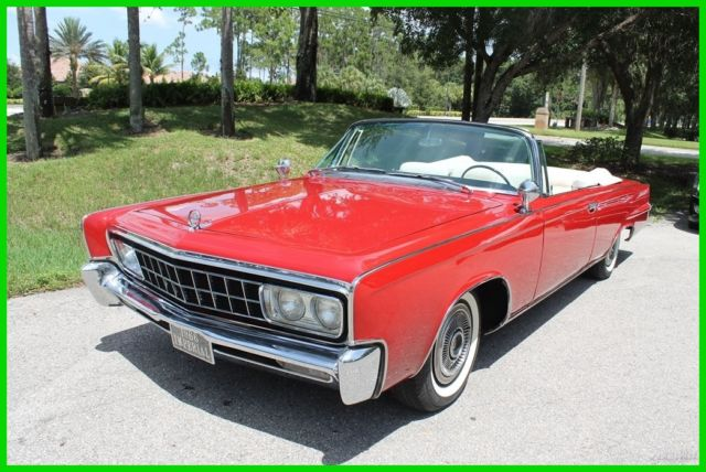 1966 Chrysler Imperial Crown Imperial Crown Convertible