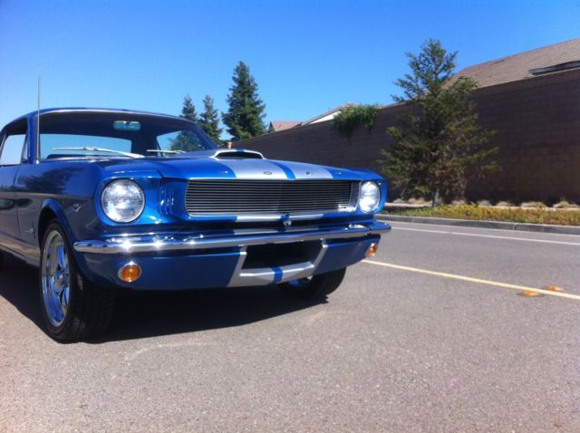 1966 65 Ford Mustang G T 350 Shelby Tribute Restomod 289