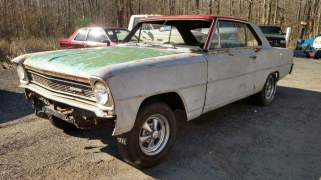 1966 66 Chevy Gm Chevy Ii Nova Project Car For Sale Photos