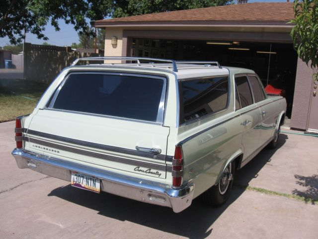 Used Cars Phoenix >> 1966 AMC Ambassador 990 Station Wagon for sale: photos, technical specifications, description