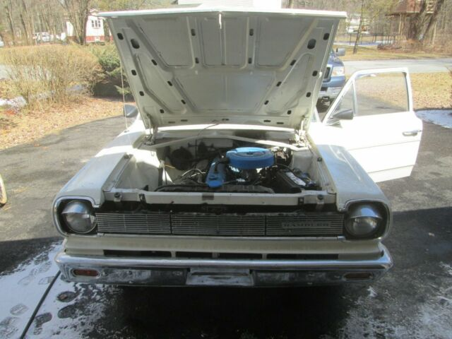 1966 Amc Rambler American Sedan 220 Inline 6 3 Speed