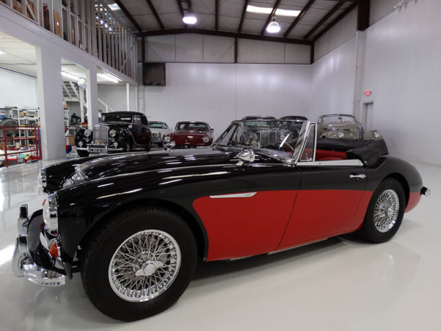 1966 Austin Healey 3000 Mark III Convertible, STUNNING!