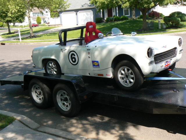 1966 Austin Healey Sprite Pretty Solid & Straight Fun Little Race Car,