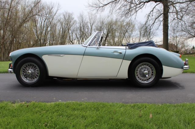1966 Austin Healey 3000 Mark 3 BJ8