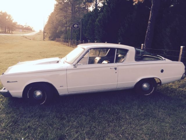 1966 Plymouth Barracuda Two door