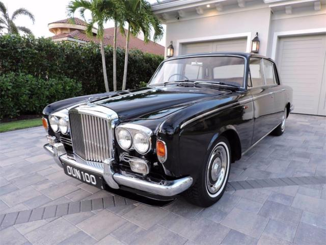 1966 Black Bentley Other Sedan Sedan with Tan interior
