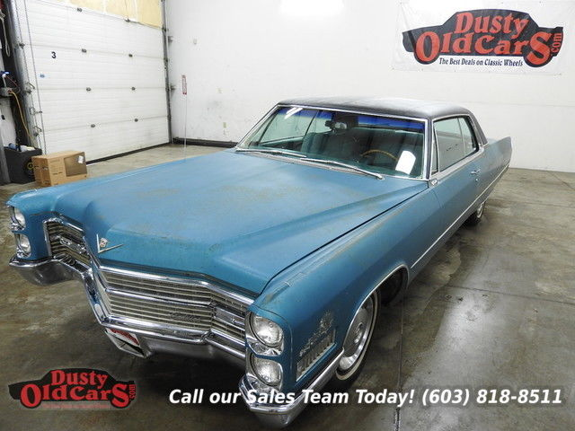 1966 Cadillac DeVille Runs Drives Body Int Good 429V8 Auto