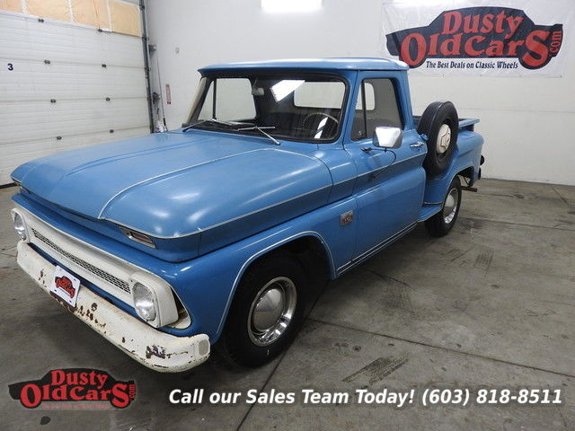 1966 Chevrolet C-10 Runs Drives Body Int VGood 250 I6 3 Spd