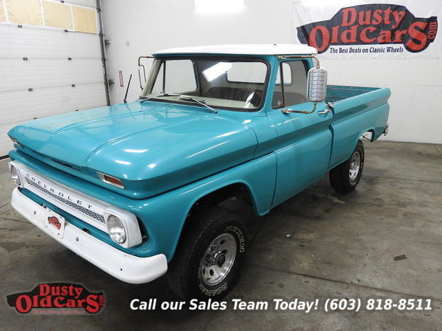 1966 Chevrolet C/K Pickup 1500 Runs Drives Body Inter VGood 327V8 4spd 4wd