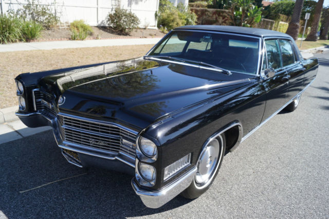 1966 Cadillac Fleetwood BROUGHAM - ORIG CALIFORNIA CAR WITH 66K MILES!