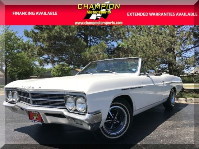 1966 Buick Skylark Special 99999 Miles Arctic white  310 Wildcat A