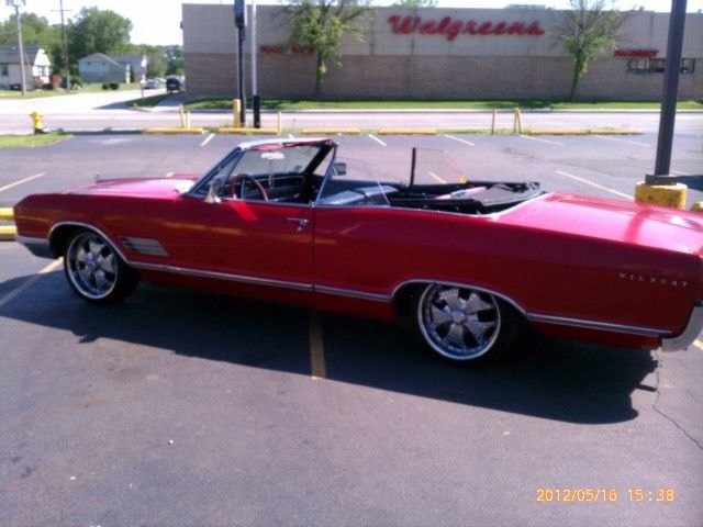 1966 Buick WILDCAT 401 NAILHEAD CONVERTIBLE