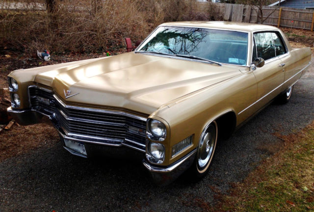 1966 Cadillac DeVille Coupe