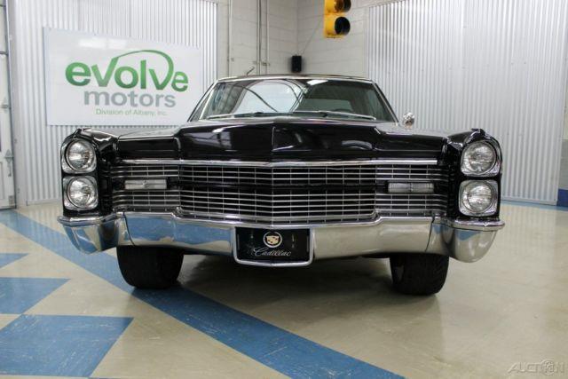 1966 Cadillac Coupe Calais De Ville 429 V8 Caddy Custom Interior Wheels Power For Sale Photos