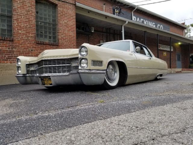 1966 cadillac coupe deville bagged body drop patina ...