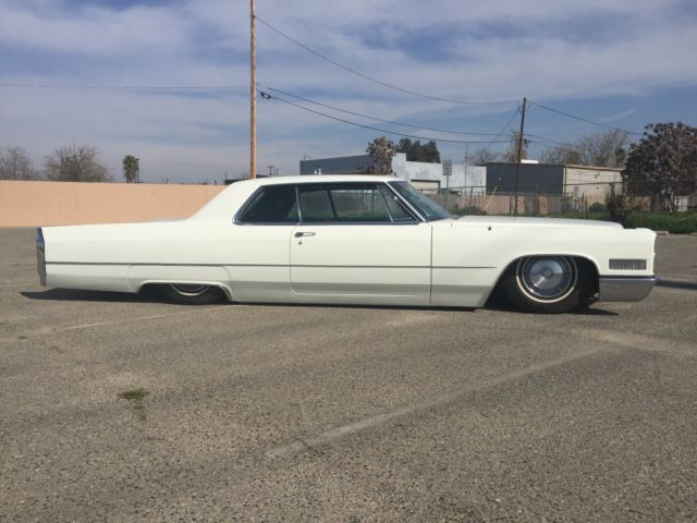 1966 CADILLAC COUPE DEVILLE BAGGED CUSTOM SLED for sale photos