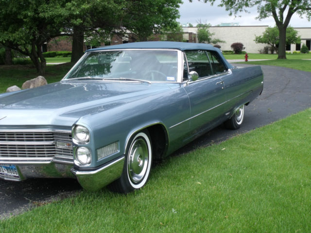 1966 Cadillac Coupe Deville Convertible for sale photos