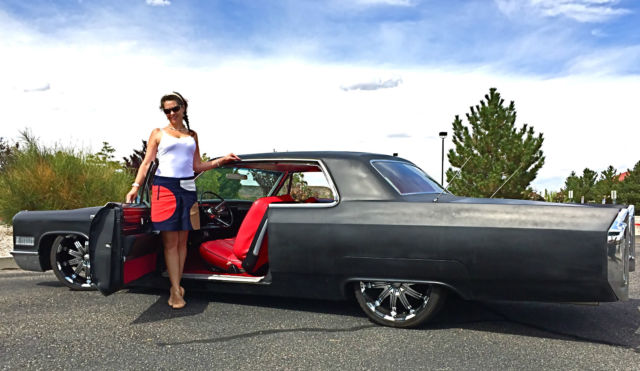 1966 Cadillac DeVille for sale photos technical specifications