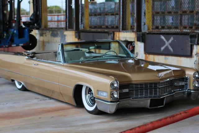 1966 Cadillac Deville Convertible, Airbags, Air ride, custom ...