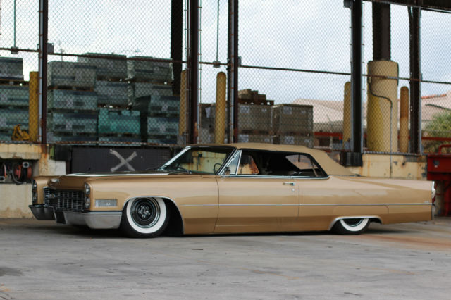 1966 Cadillac Deville Convertible Airbags Air Ride