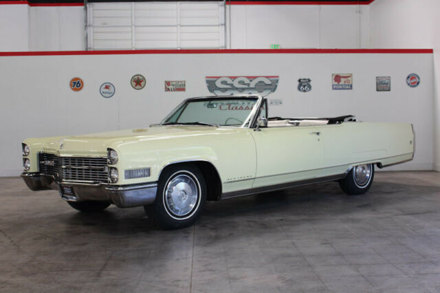 1966 Cadillac Eldorado No trim field