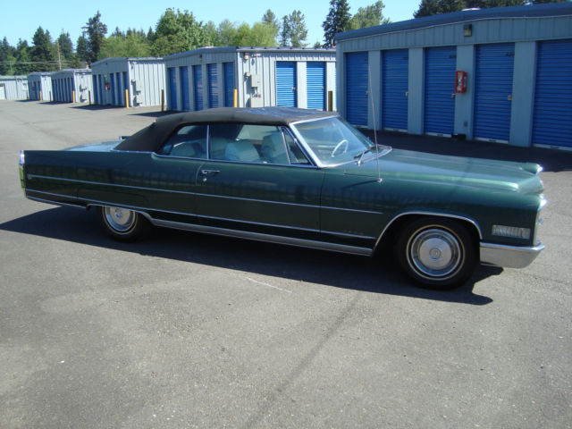 1966 Cadillac Eldorado Convertible Survivor Buckets/Headrest