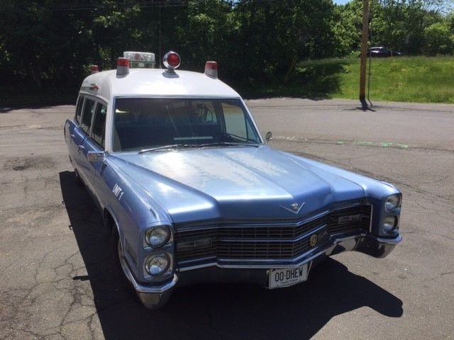1966 Cadillac Miller-Meteor Ambulance for sale: photos