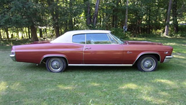 1966 Caprice Coupe With Bucket Seats for sale: photos