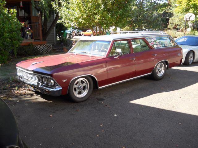 1966 Chevelle Malibu Wagon for sale: photos, technical