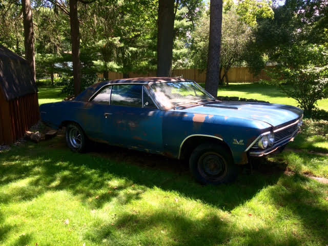 1966 Chevelle Ss Supersport Real 138 Roller Project Car For Sale