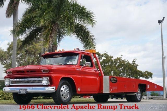 1966 Chevrolet Apache 40 Ramp Truck C10 C20 C30 C40 Silverado 3100