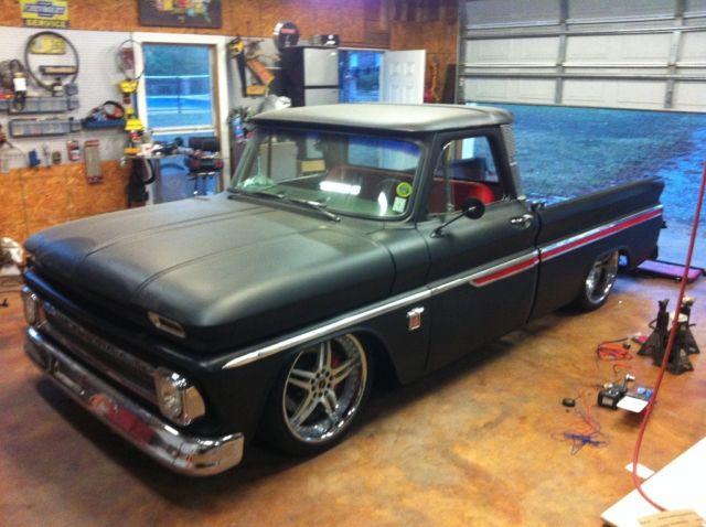 1966 chevrolet c-10 c10 chevy 65 64 67 truck air ride pro ...