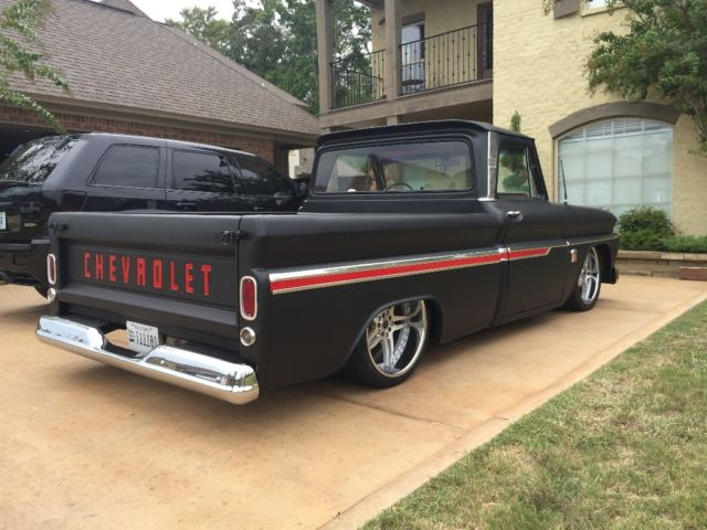 1966 chevrolet c 10 c10 chevy 65 64 67 truck air ride pro touring lsx ls3 bagged for sale. Black Bedroom Furniture Sets. Home Design Ideas