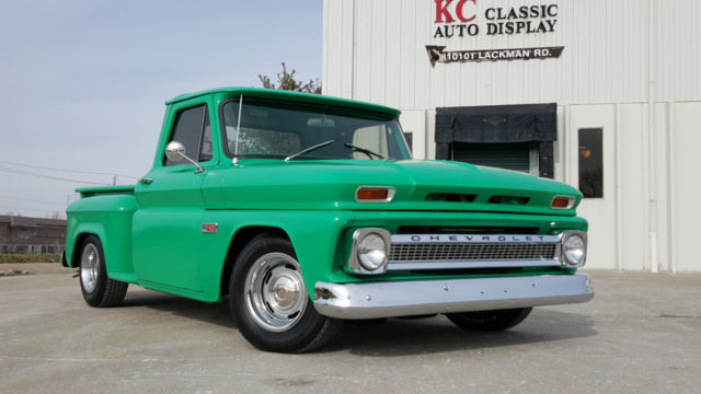 1966 chevrolet c10 pick up restored auto 350v8 ac free for Kansas dept of motor vehicles phone number