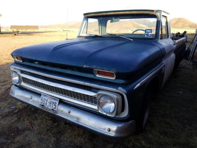 1966 Chevrolet C-10 Deluxe cab Large window