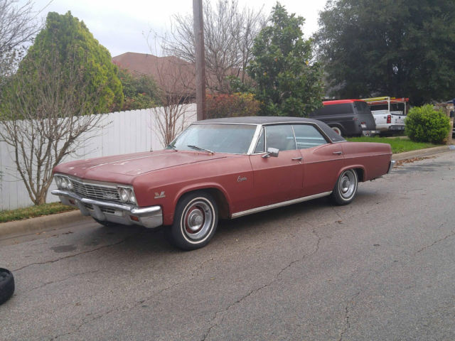 1966 chevrolet caprice 427 ss 4 door hard top for sale photos technical specifications. Black Bedroom Furniture Sets. Home Design Ideas