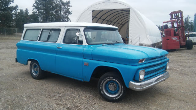 1966 Chevrolet C-10 Carryall