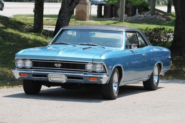1966 Chevrolet Chevelle Numbers Matching 138 Car