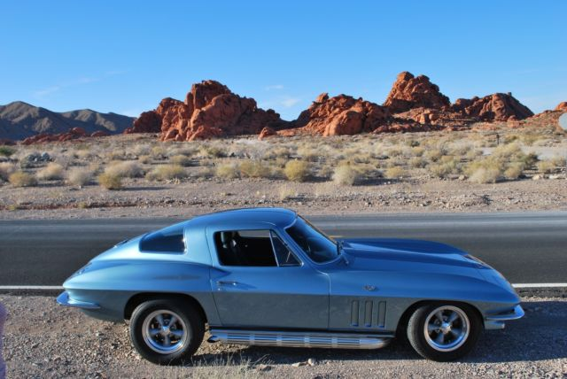 1966 Chevrolet Corvette 327/350hp L79 with 5 Speed Tremec for sale