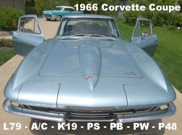 1966 Chevrolet Corvette L79 Coupe w/ Air Conditioning