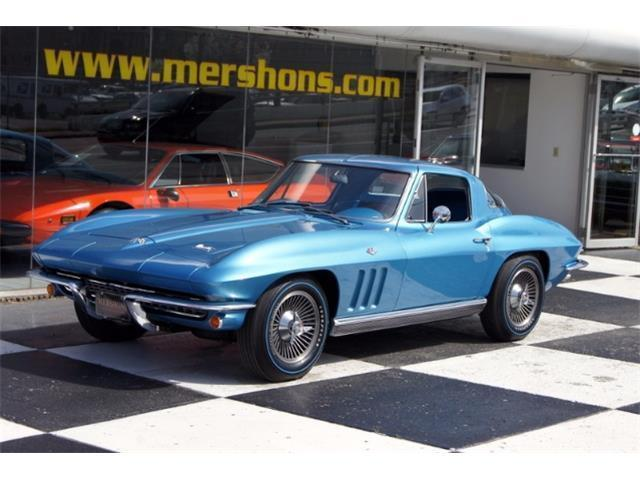 1966 Chevrolet Corvette - Triple Crown Award Winner, 327/350hp, Blue on Blue!