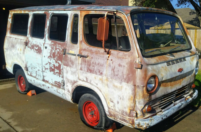 1966 Chevrolet G10 Van Base