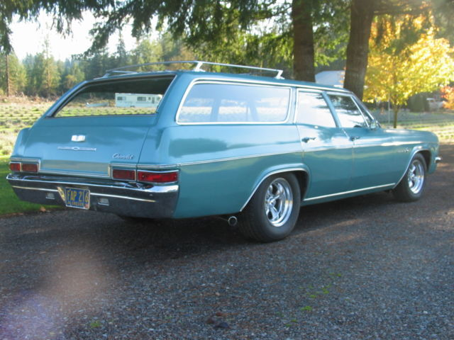 1966 Chevrolet Impala 9 Pass Station Wagon For Sale