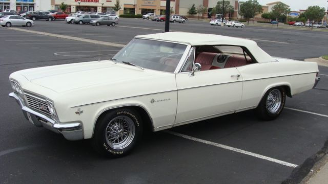 1966 chevrolet impala convertible chevy drop top for sale photos technical specifications. Black Bedroom Furniture Sets. Home Design Ideas