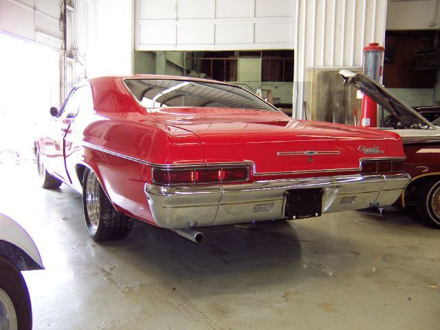1966 chevrolet impala ss 26544 miles red coupe 327 unspecified for