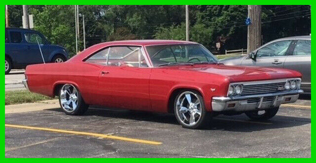1966 Chevrolet Impala SS with Chrome Trimmed Original Bucket Seats