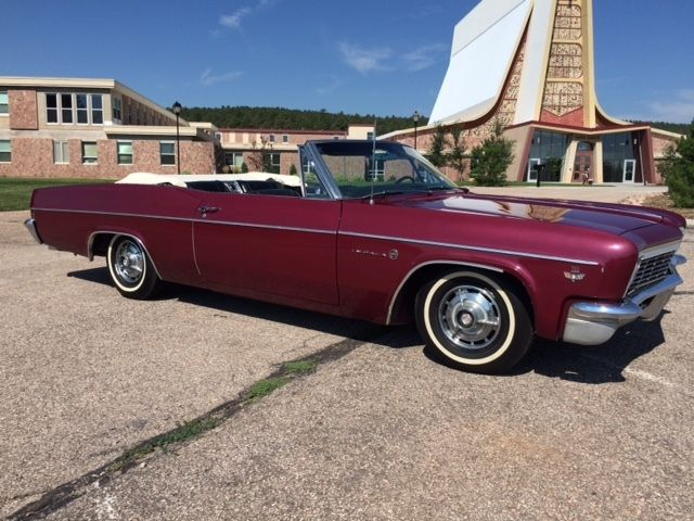 1966 chevrolet impala ss convertible barn find for sale photos technical specifications