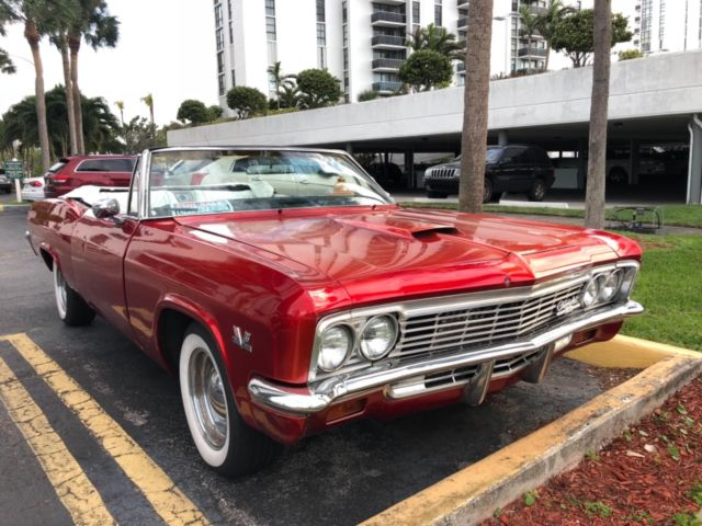 1966 Chevrolet Impala SS CONVERTIBLE Classic Antique Hot Rod